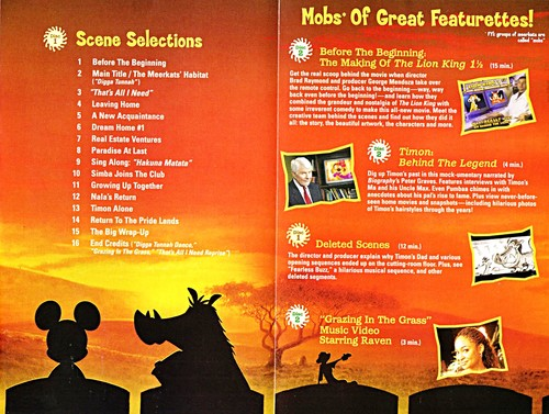 Walt Disney Inlays - The Lion King 1½