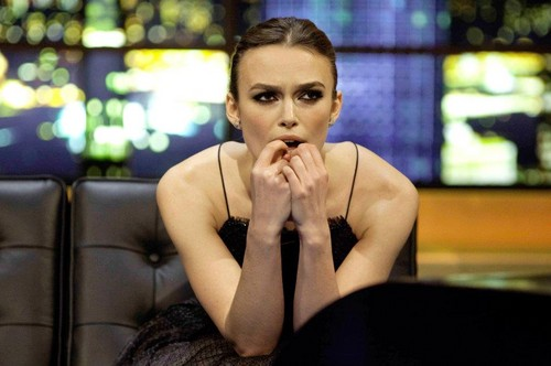 Keira Knightley visits the Jonathan Ross show