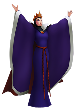 Kingdom hearts evil queen