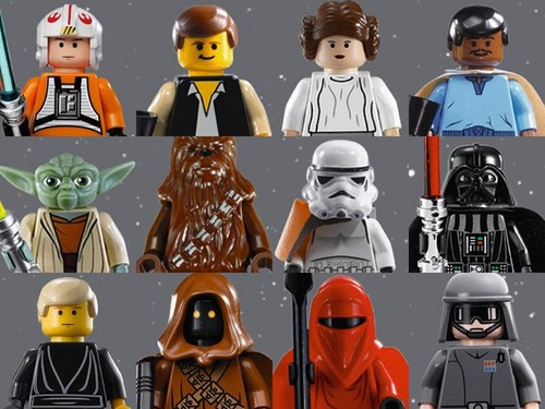 Lego звезда Wars Characters