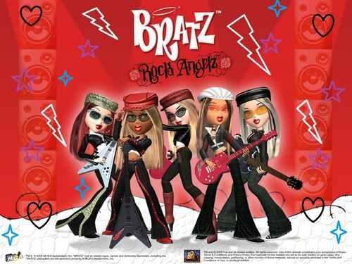 My Bratz Rock Angelz پیپر وال