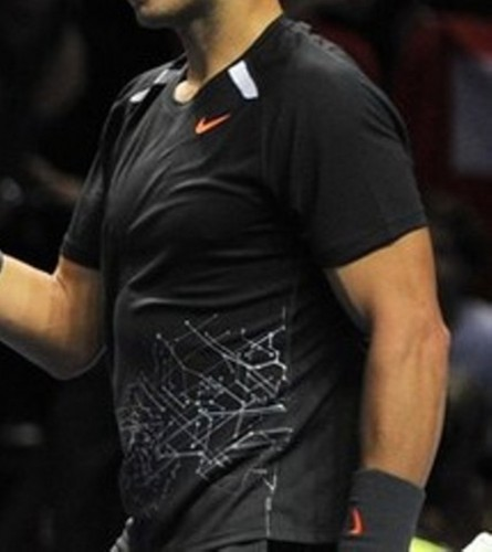 Nadal put on weight ..He has bigger belly and breast..