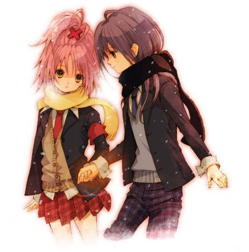 Nagihiko and Amu