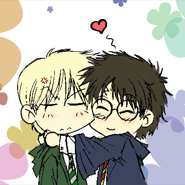 chibi potter and draco