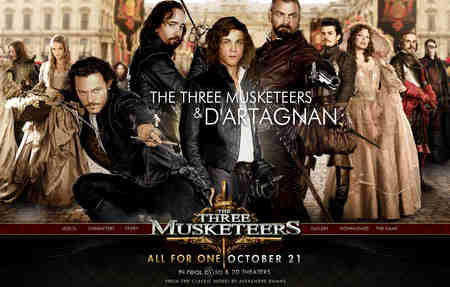 the three musketeers poster 2