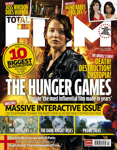 Katniss on the cover of Total Magazine