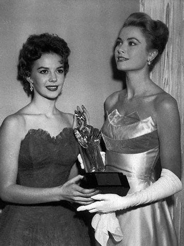 Natalie and Grace Kelly