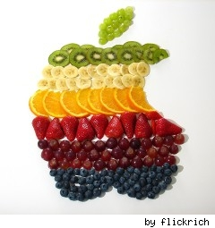 apple-logo-frut-salad