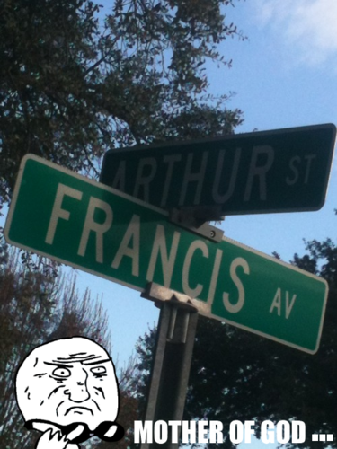 Arthur and Francis Intersection