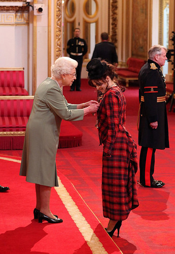 Helena received CBE