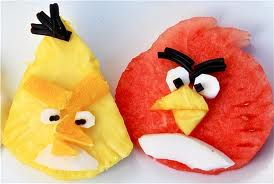 The Yellow and Red Angry Birds