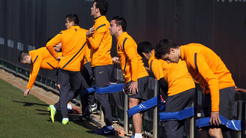 Training session 18/02/2012