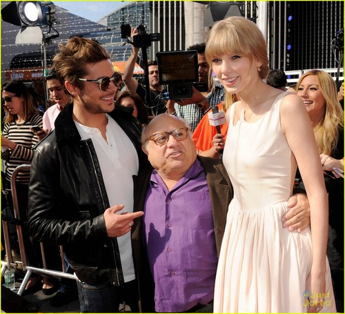 Zac Efron and Taylor rápido, swift - O Lorax Primiera