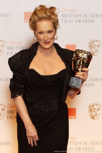 meryl streep, events, february 12, 2012, bafta awards - press room, bafta awards, press room, bafta,