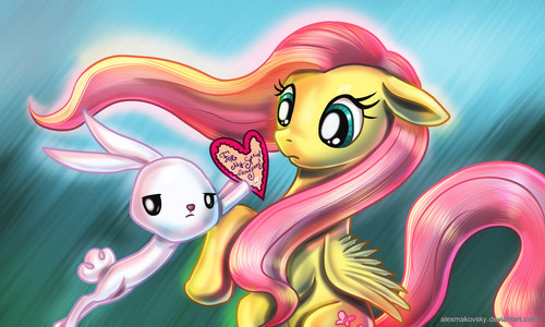Happy Valentine दिन Fluttershy