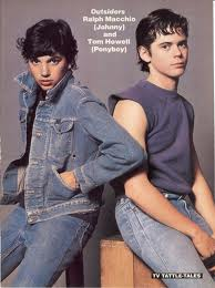 Johnny Cade and Ponyboy Curtis