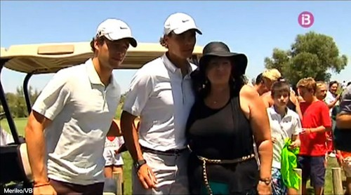 Rafa and big woman