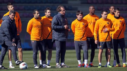 Training Session 23/02/2012