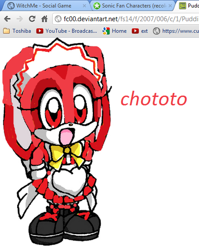 chototo the rabbit creams cousin!