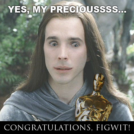 congrats, figwit!