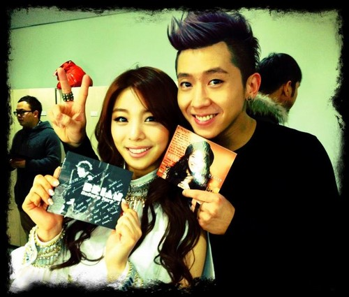 Ailee With Brian Joo