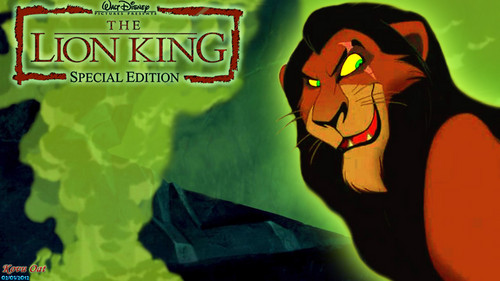 Evil Scar Lion King kertas dinding HD