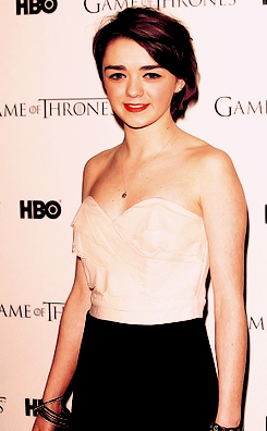 Game Of Thrones - DVD premiere- Maisie Williams