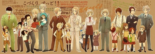 hetalia - axis powers siblings