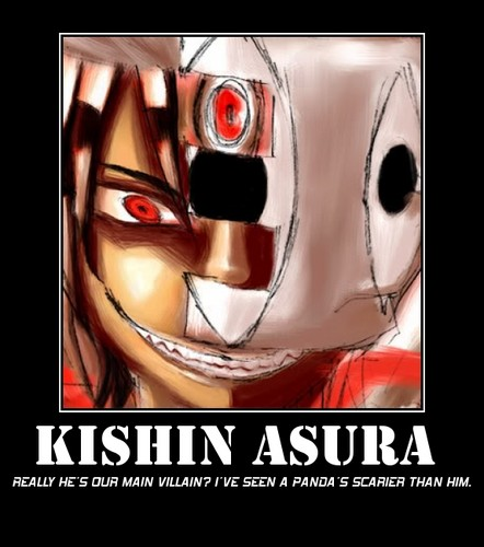 Kishin= not scary