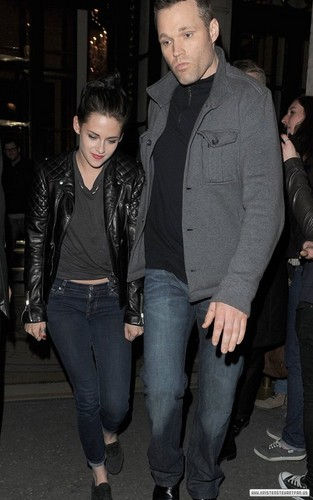 Kristen Stewart out and about in Paris, France - March 2, 2012.