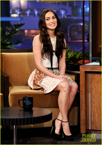 Megan Fox: 'Tonight Show With gaio, jay Leno'!