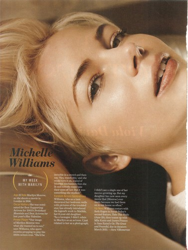 Michelle Williams - Entertainment Weekly