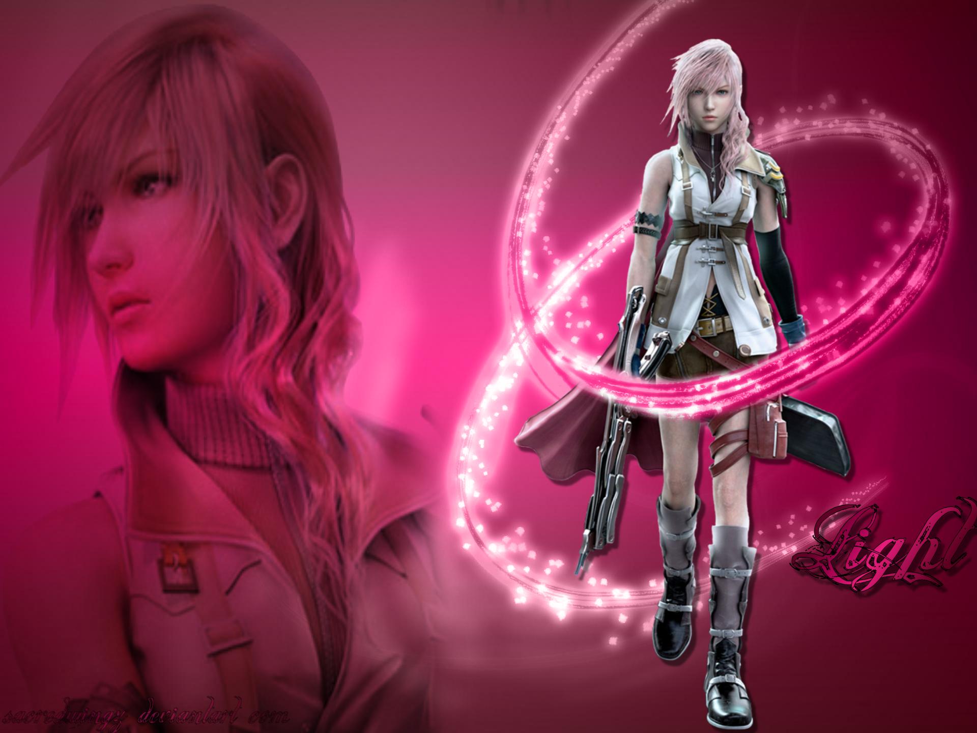 Lighting Backgrounds Final Fantasy 13 2 Lighting Wallpaper