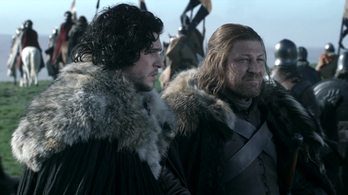 Jon and Eddard