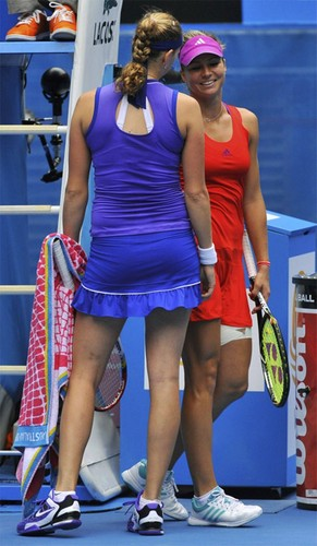 Kvitova and Kirilenko