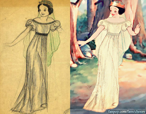 Snow White's Wedding Dress