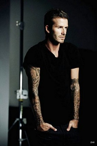 David Beckham-Intimately Yours Promo
