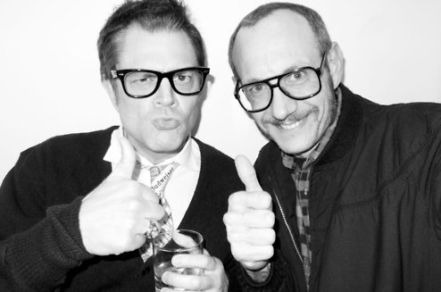Johnny Knoxville Photoshoot سے طرف کی Terry Richardson