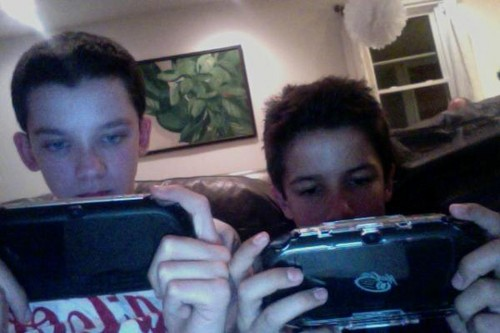 Ps Vita buddies - Asa and Aramis Knight(Bean in ender's game)