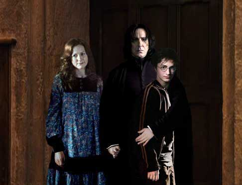 SEV + LILY + HARRY = HAPPY FAMILY