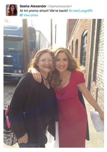 Sasha Alexander back for Season 3!