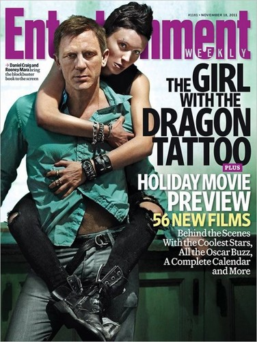 The Girl with the Dragon Tattoo - EW Magazine Covers