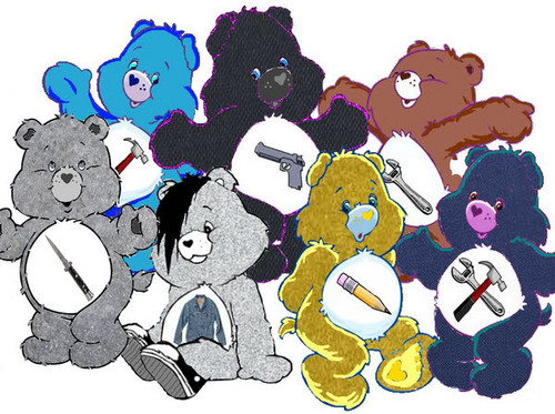 the Outsiders as Care Bears