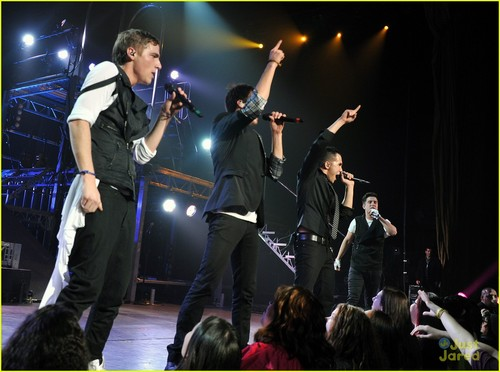 Big Time Rush: Radio City muziki Hall tamasha