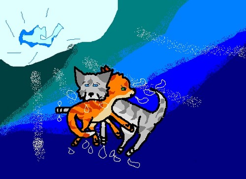 Flametail's Death (thank god Jayfeather survived)
