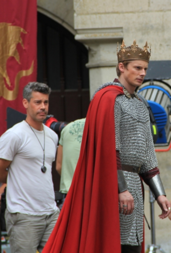 Bradley James & Sir McCready - BTS Pierrefonds