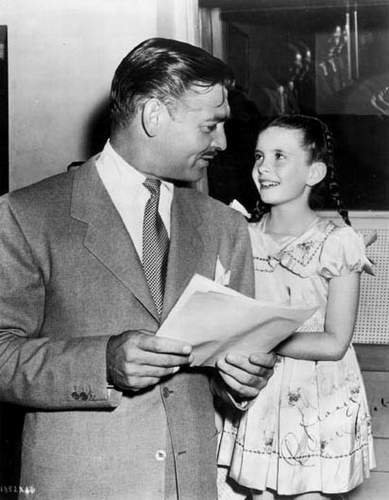 Clark Gable & Margaret O'Brien