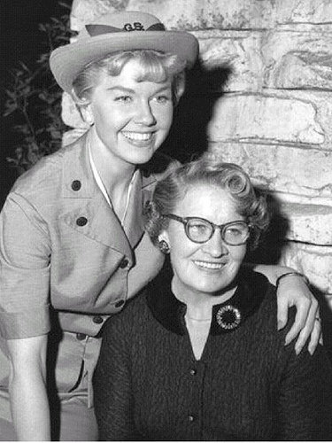 Doris Day & her mother Alma