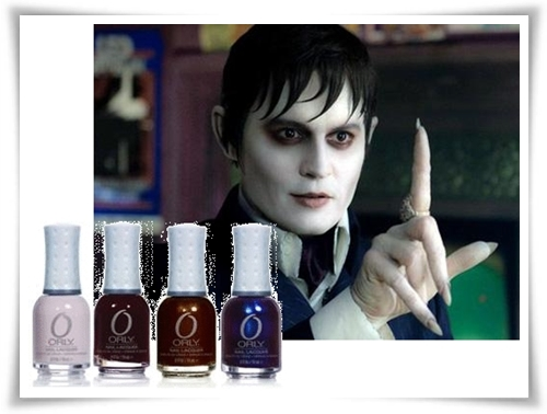 Dark Shadows nail polish sejak Orly