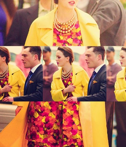 Ed and Leighton on set 20.03.2012 ♥♥